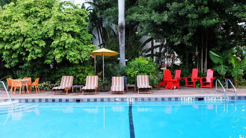 Freehand Miami pool