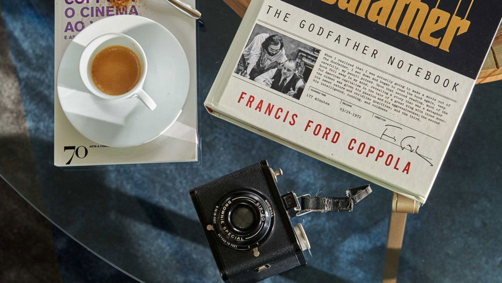 Gudfader sviten i Paris med Coppolas personliga filmmaterial