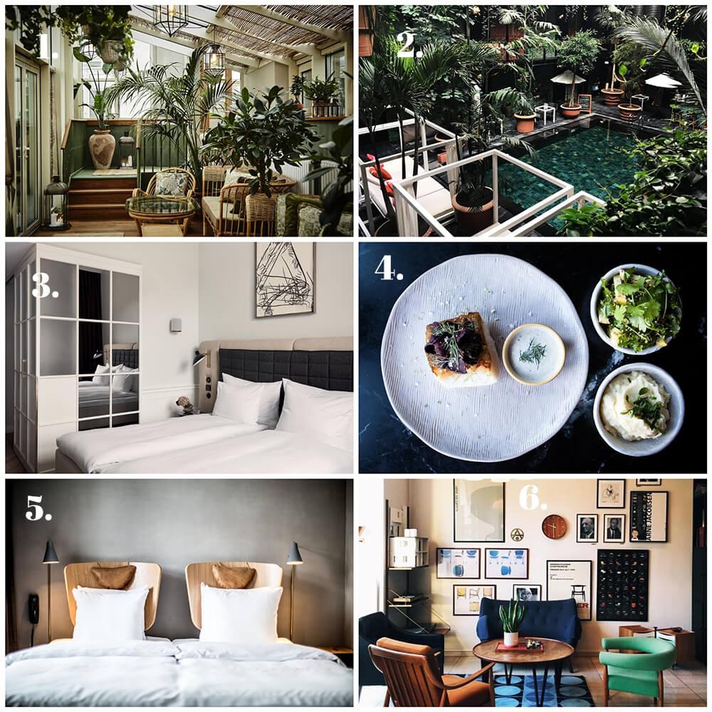 6 läckra hotell i underbara Köpenhamn