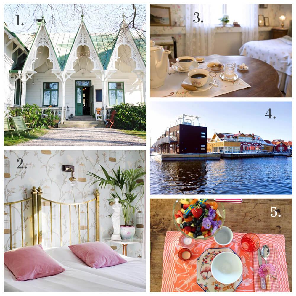 5 härliga hotell i Bohuslän
