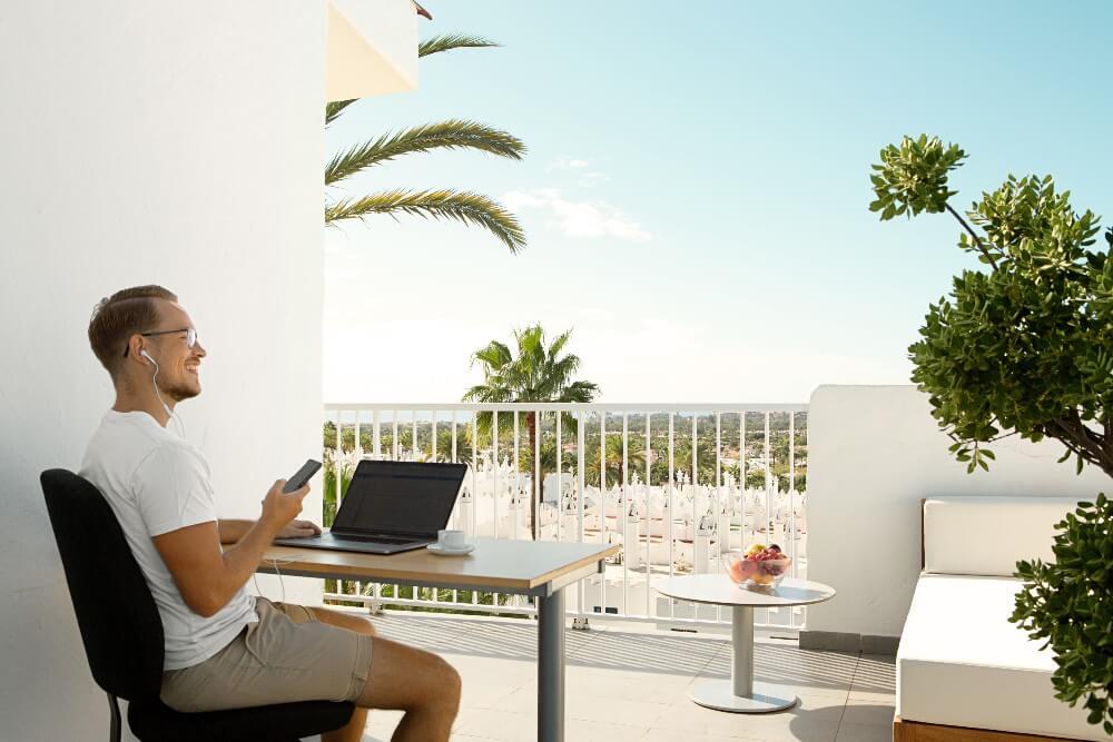 Nytt smart koncept – Workation på Gran Canaria – Ving satsar på hotellrum för distansarbete i kombination med semesterkänsla